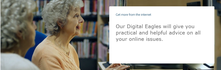Barclays programme offering digital knowledge, solutions, alternatives and support to help older customers get online.
